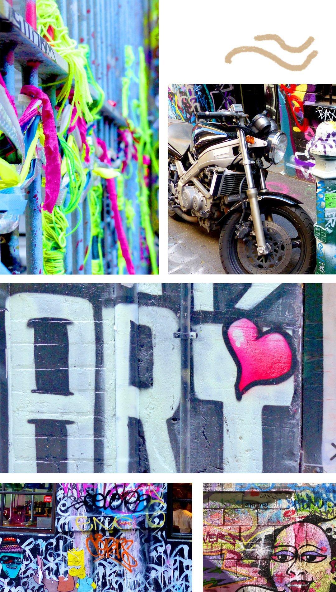 Melbourne Graffiti Hot Spot - Hosier Lane