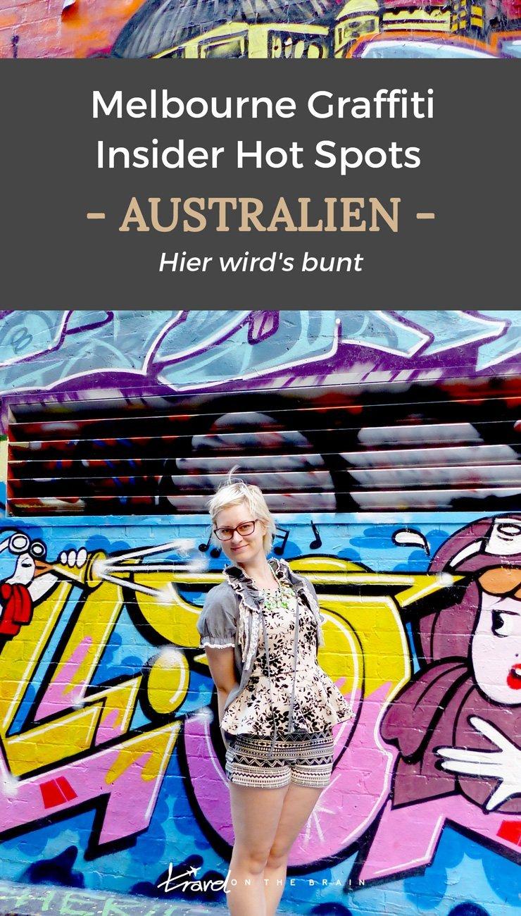 Melbourne Graffiti Hot Spots mit Karte und besten Straßen