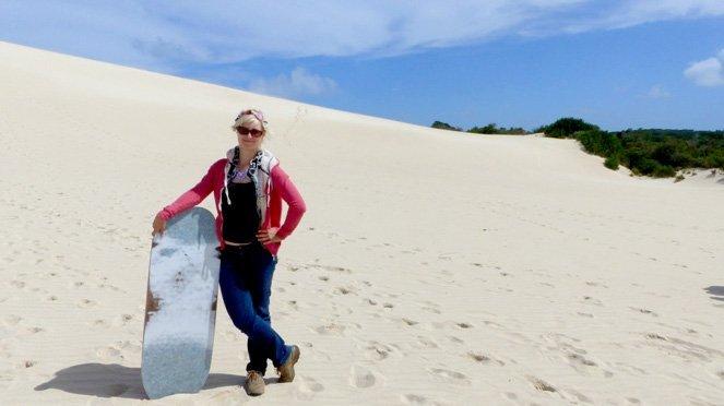 10 Verrückte Dinge, die ich tatsächlich in Ozeanien gemacht habe - Sandboarden