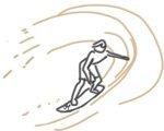 Ich war in Byron Bay und dachte mir, dass ich in dieser Surferhochburg auch gleich das Surfen lernen sollte. Aber das stellte sich als Desaster heraus.
