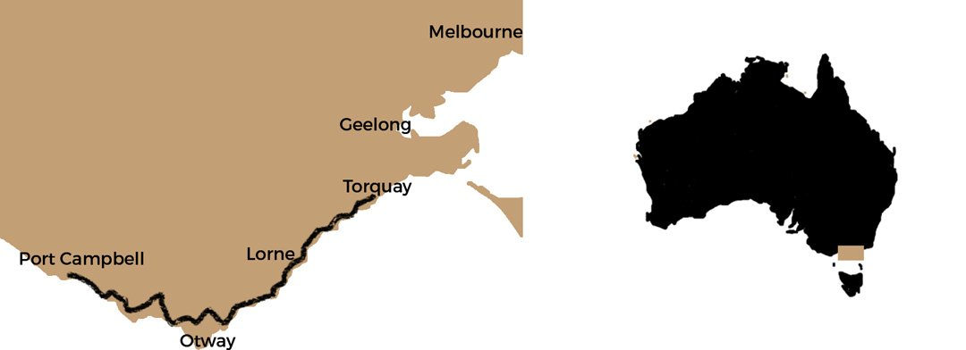 Great-Ocean-Road-Map-compared-to-Australia-by-Travelonthebrain-wide