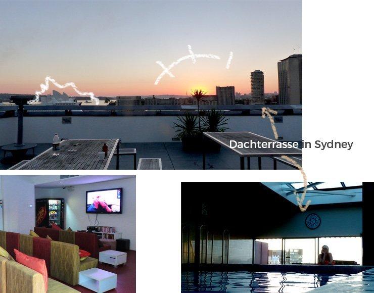 Hostels Suchen ist leicht -  hier ist mein Hotel in Sydney