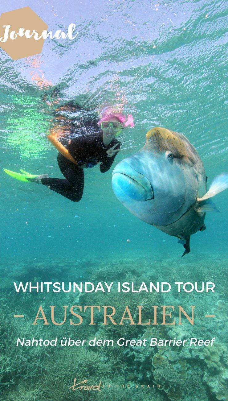 Whitsunday Islands Tour - Nahtod über dem Great Barrier Reef