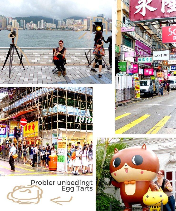 Hong Kong Sehenswürdigkeiten, die sich wirklich lohnen - zum Beispiel Avenue of Stars und Mong Kok