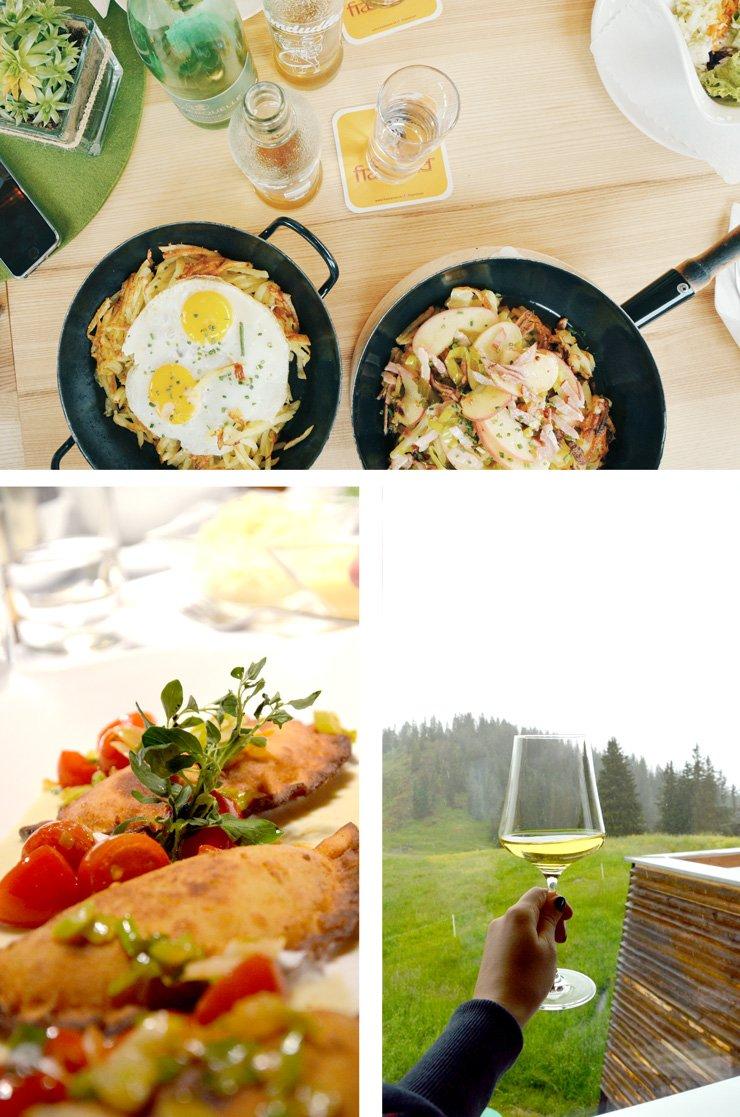 Österreichische Küche - Wo Gourmets Berge Verschlingen - Vorarlberg