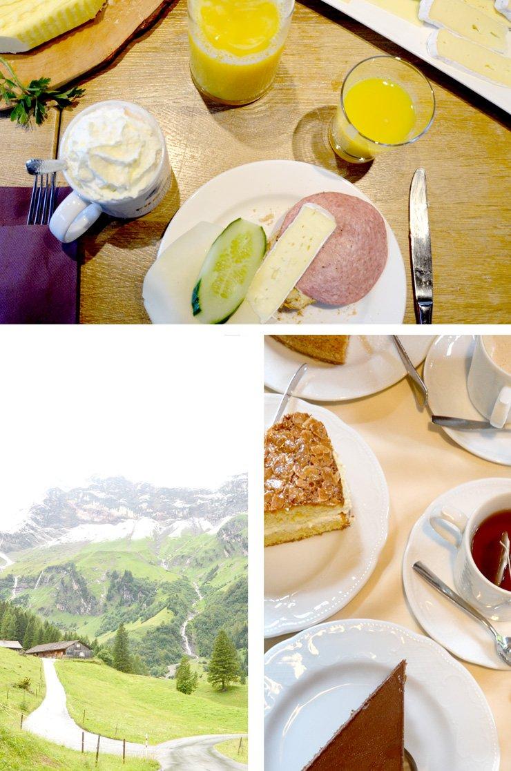 Österreichische Küche im Walsertal in Vorarlberg