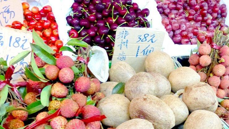 Hong Kongp Restaurants und was du unbedingt probieren musst - frisches Obst