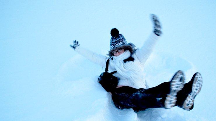 10 unschlagbare Gründe Finnisch Lappland im Winter zu besuchen - Schneespiele