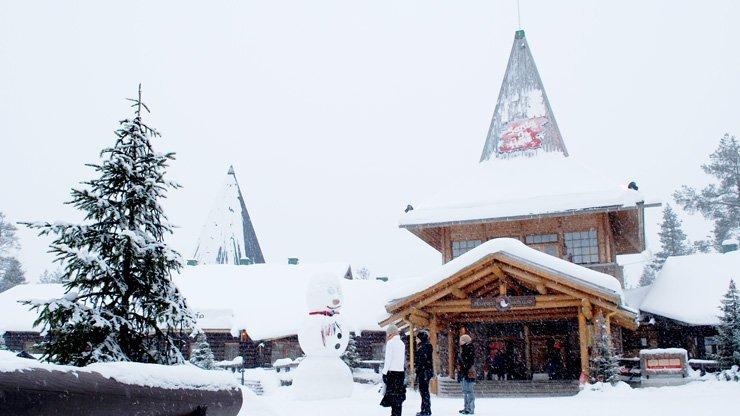 10 unschlagbare Gründe das finnische Lappland im Winter zu besuchen - Santa Claus Village