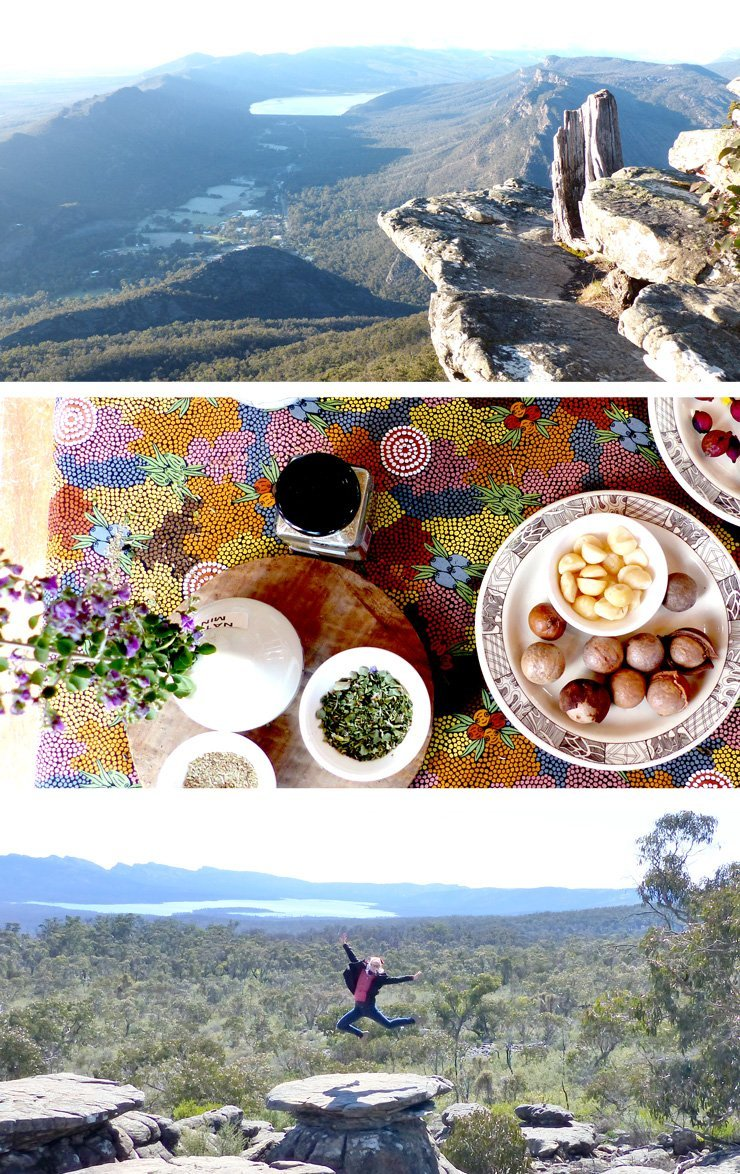 Australiens Grampians Nationalpark - Boroka Lookout und the balconies