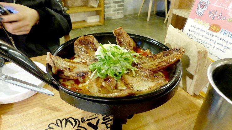 koreanisches Essen - tteokbokki