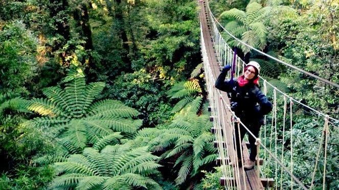 10 Verrückte Dinge, die ich tatsächlich in Ozeanien gemacht habe - ziplining