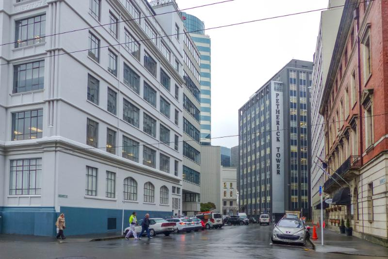 Maginnity Street im Regen