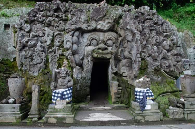 Goa Gajah Elefantenhöhle Ubud Bali 22