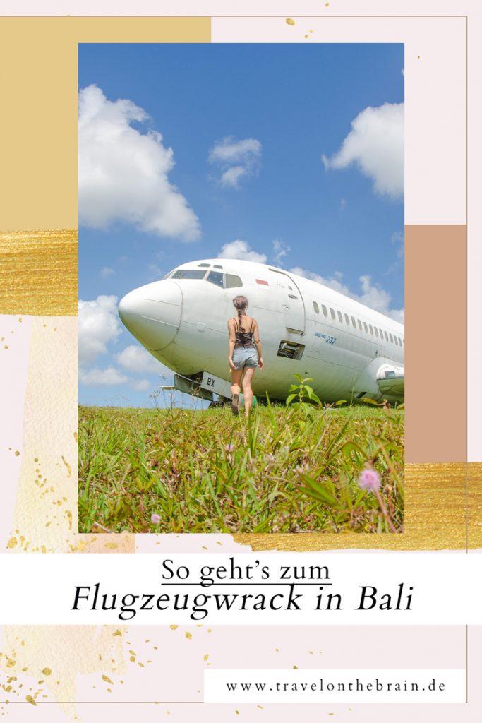 Hier findest du die Flugzeuwracks von Bali