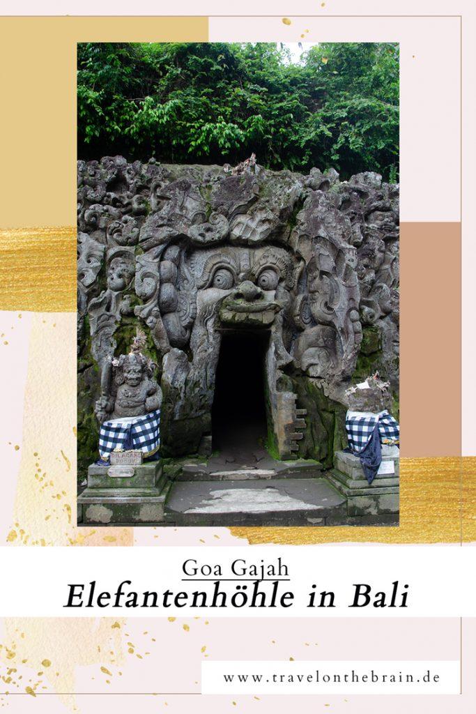 Goa Gajah – Die Elefanten Höhle in Bali