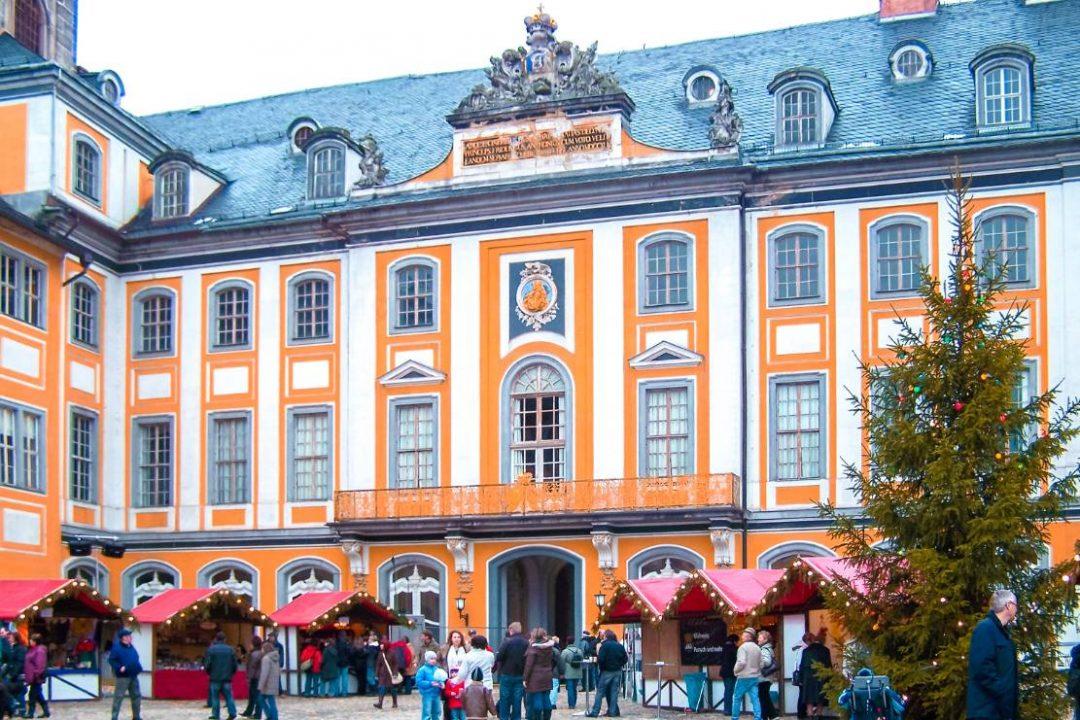Thüringer Weihnachtsmarkt Rudolstädter Heidecksburg