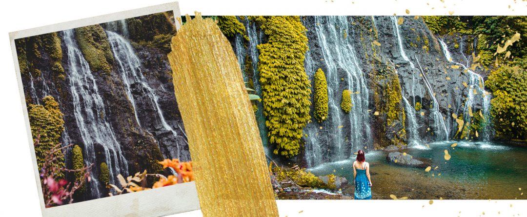 Bilder von den Banyumala Wasserfälle auf Bali, Indonesien