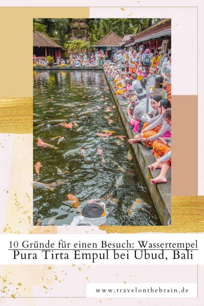 10 Gründe den Wassertempel Pura Tirta Empul bei Ubud zu besuchen