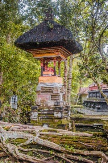Eingangsbereich vom Wassertempel Pura Tirta Empul bei Ubud
