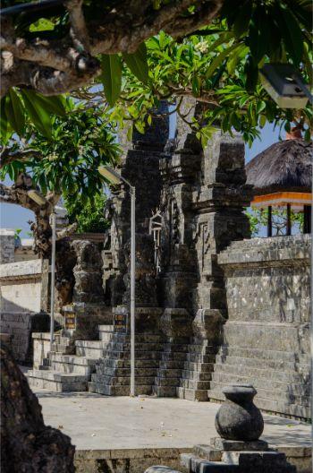 ein EIngang im Uluwatu Tempel