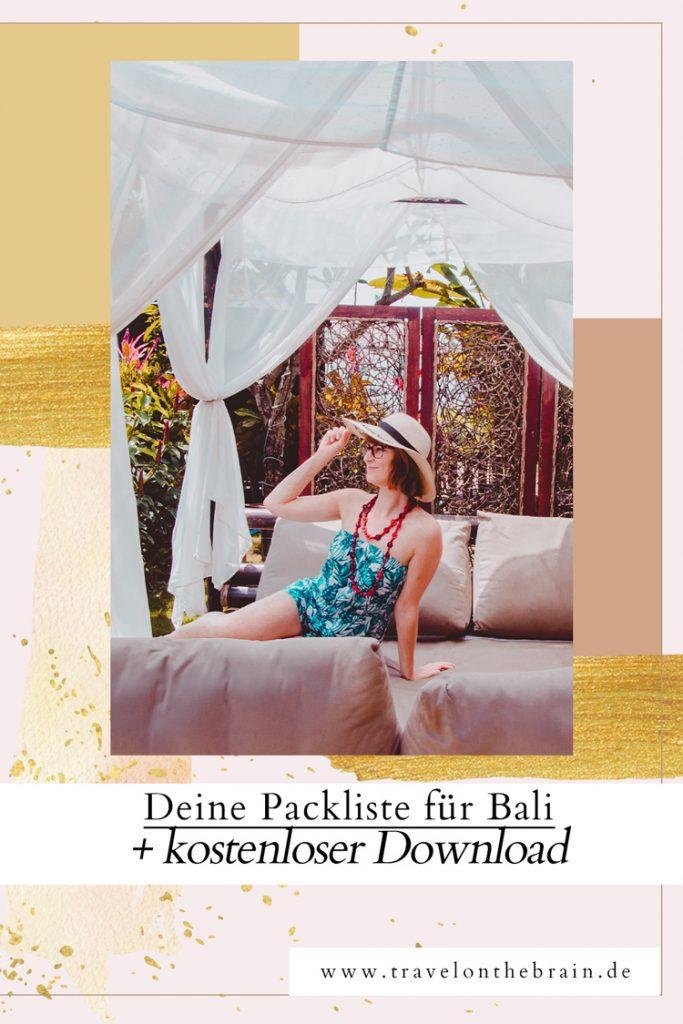 Das muss mit: deine Packliste für Bali (mit kostenlosem Download)