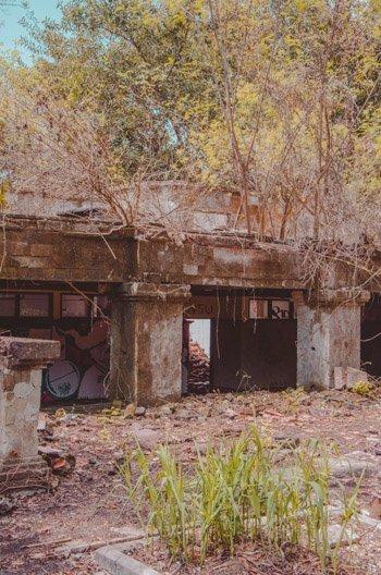 Ehamlige Räume von außen betrachtet, Taman Festival