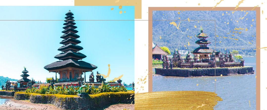 Der Wassertempel Pura Ulun Danu Bratan auf Bali