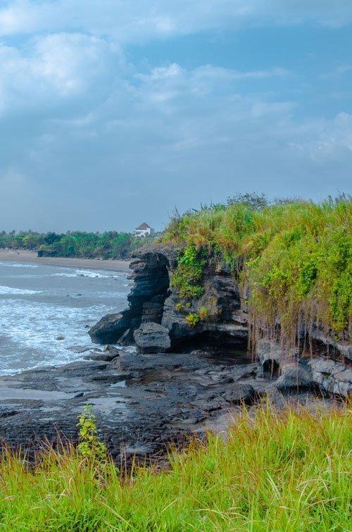Kedungu Beach Waterfall