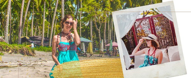 Kleider im Boho Stil für Bali