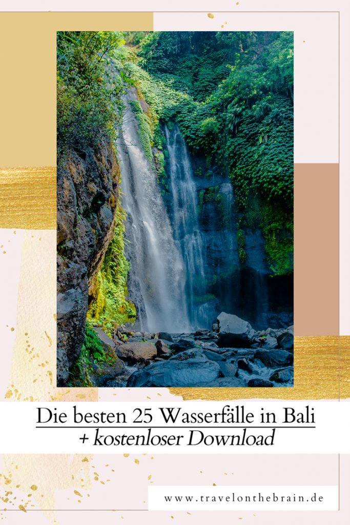 Die besten 25 Wasserfälle in Bali – Mit kostenlosem Guide