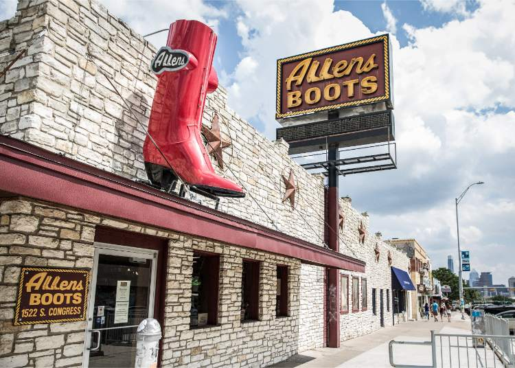 Allen Boots Texas - Travel Texas