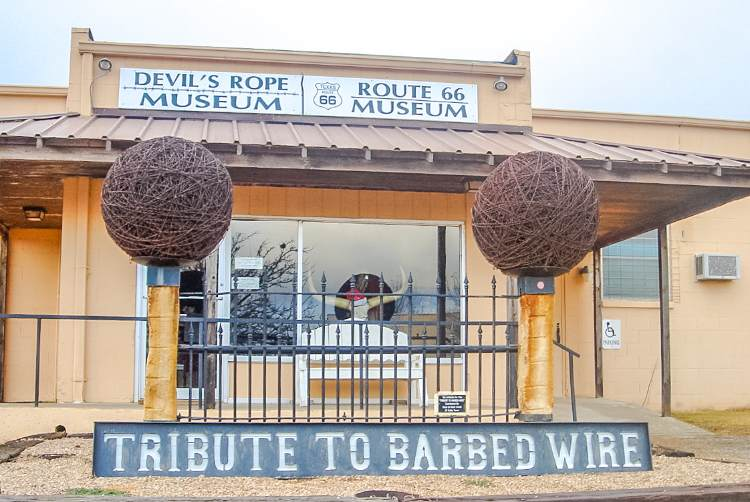 Devil's Rope Museum in Texas