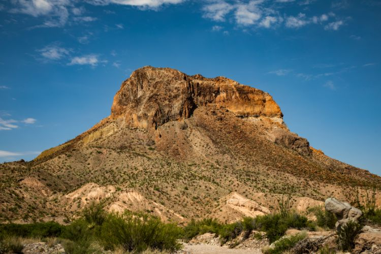 Big Bend National Park, Butte Rock Formation - Travel Texas