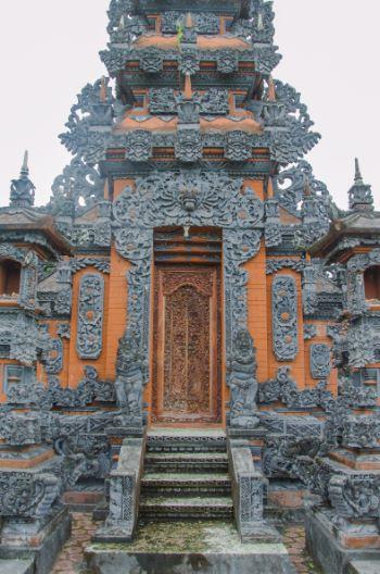 Tür am Tempel Jagat Nata