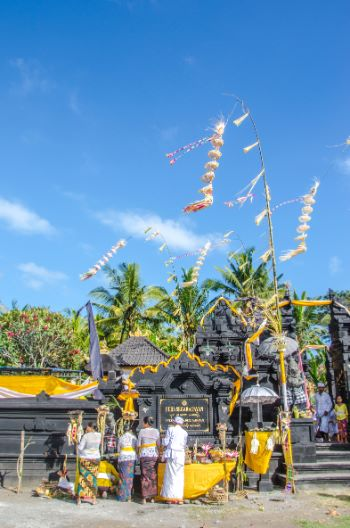 Tempel in Westbali