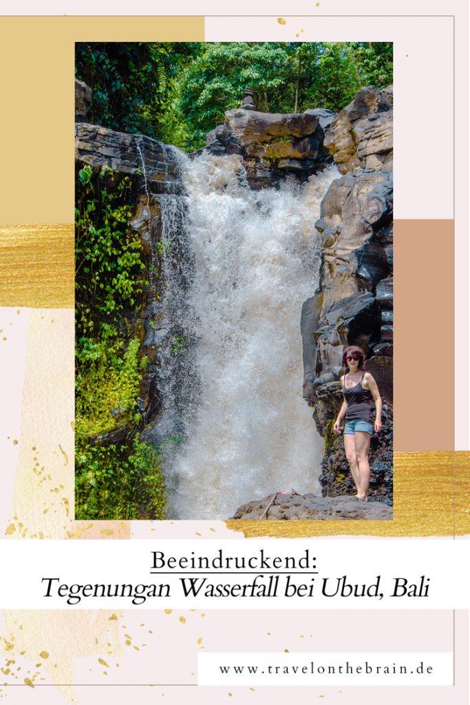 Erfrischung gefällig? Ab zum Tegenungan Wasserfall bei Ubud, Bali