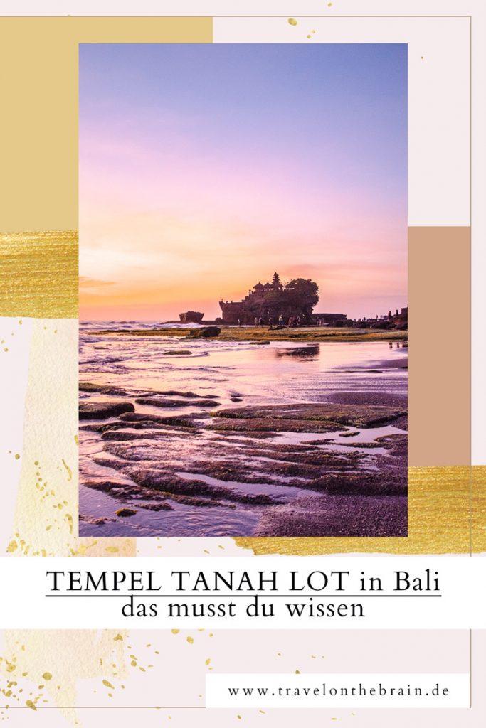 Was du alles zum Tempel Tanah Lot in Bali wissen musst
