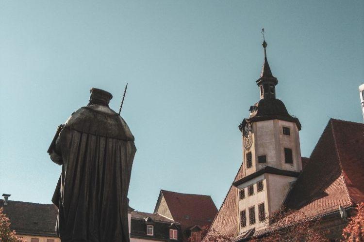 Hanfried und Rathaus in Jena