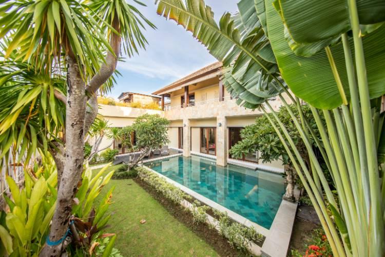 Villa auf Bali