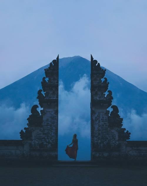 Das berühmte Bali Tor