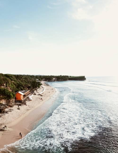 Weißer Strand in Bali