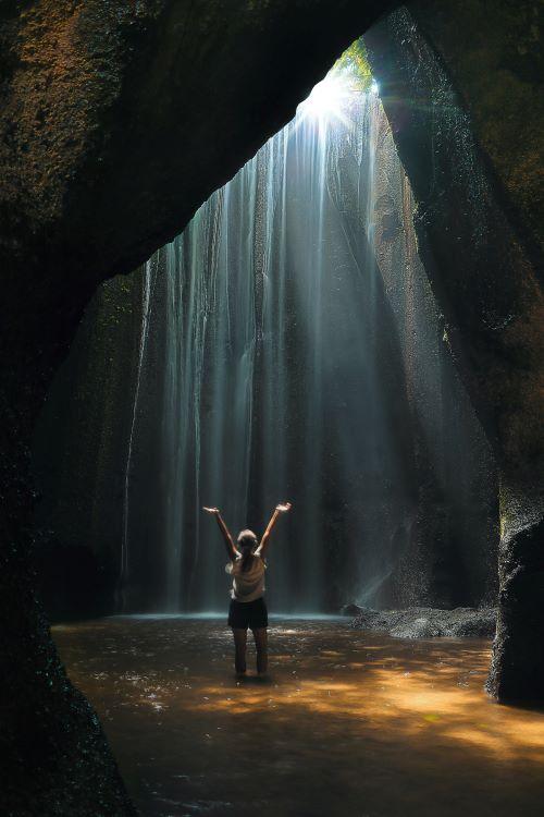 Wasserfall auf Bali