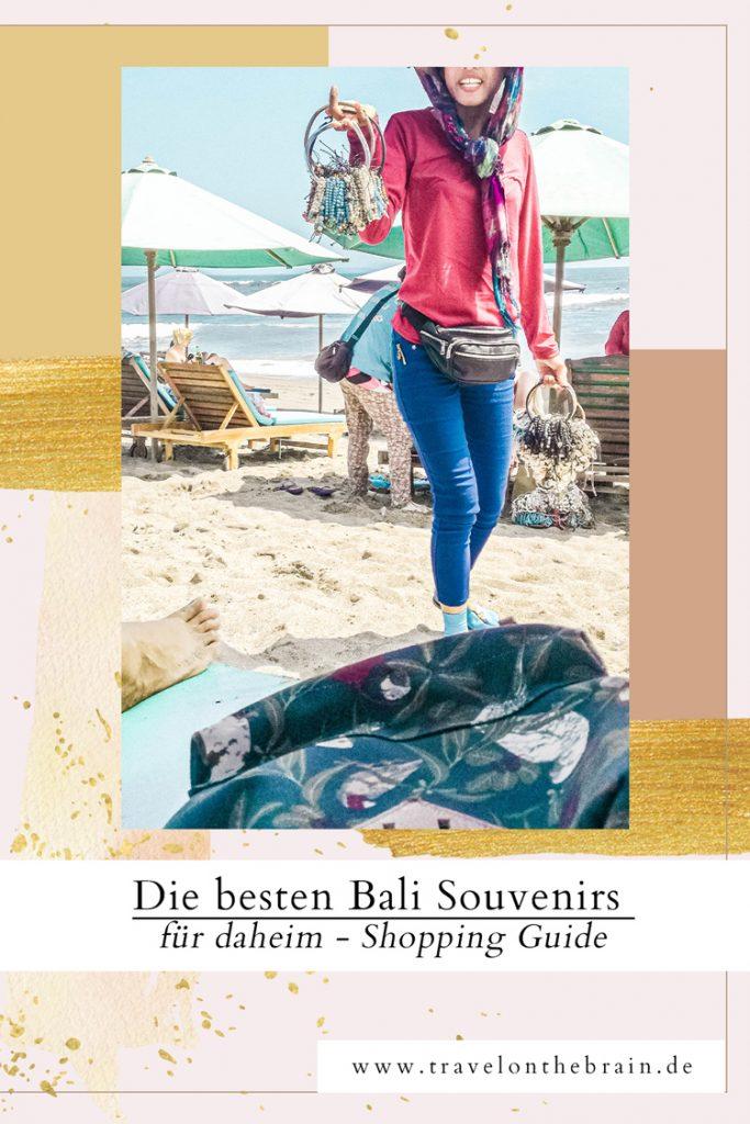 Die besten Bali Souvenirs für daheim - Bali Shopping Guide - Pin