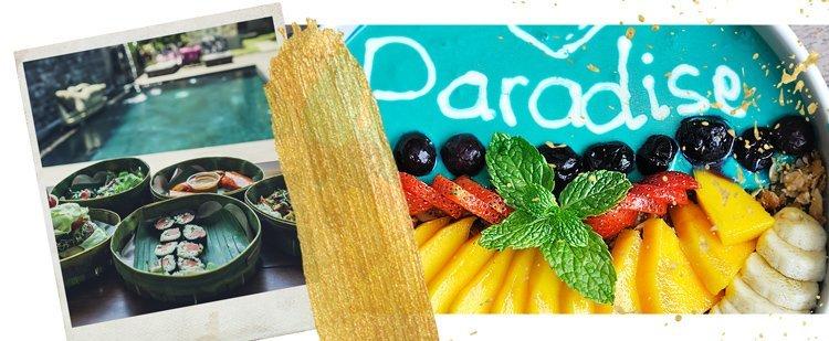Pin: frische Gerichte in Bali - ein Auslöser von Bali Belly