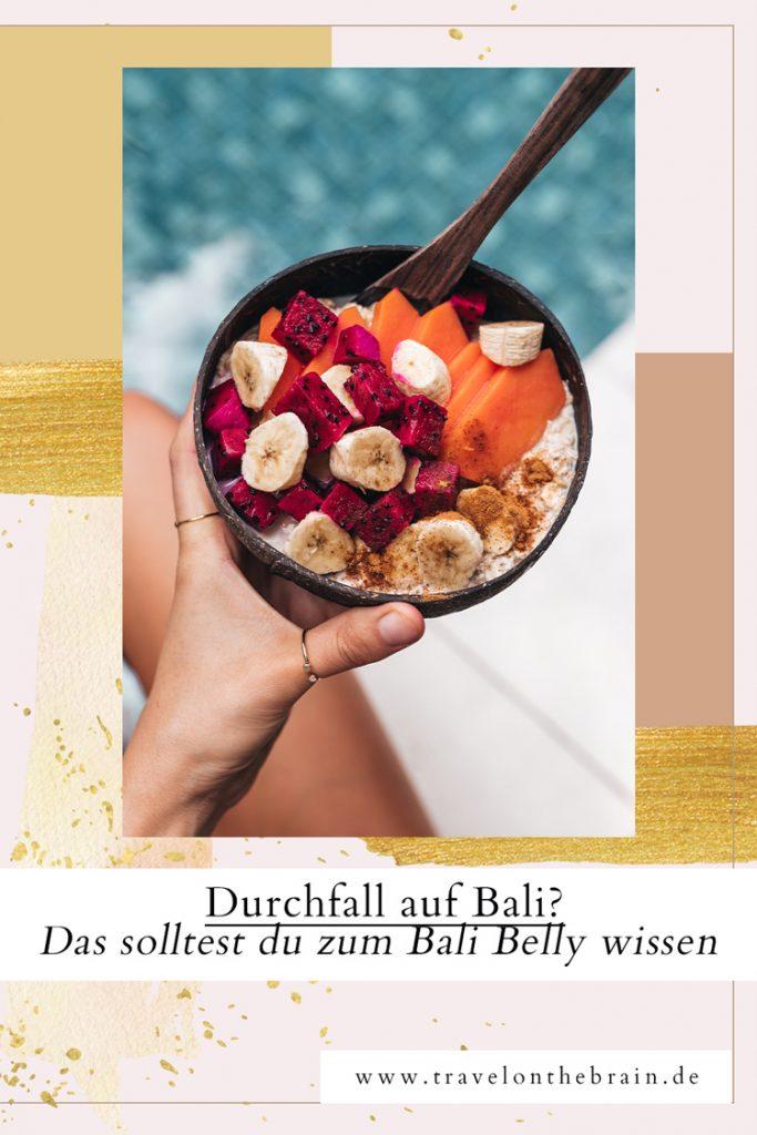 Pin: Durchfall auf Bali? Das solltest du zum Bali Belly wissen