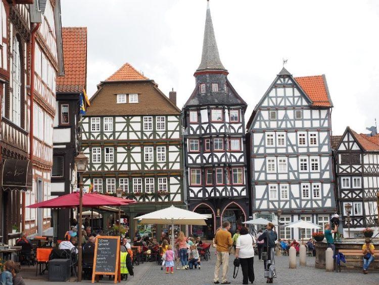 Historischer Markplatz in Fritzlar