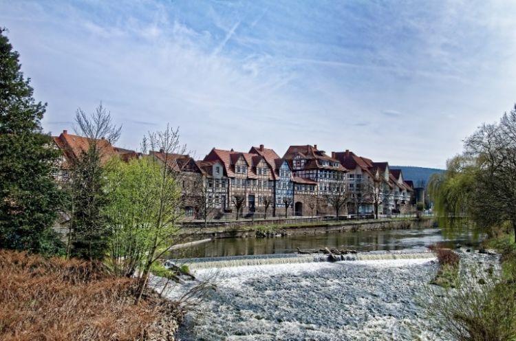 Fulda mit Flussansicht