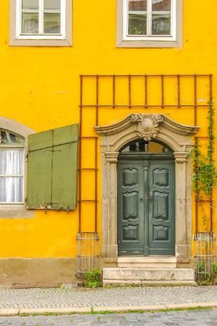 gelbes Haus in Weimar