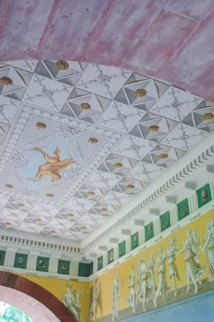 Wandbemalung Römerhaus in Weimar